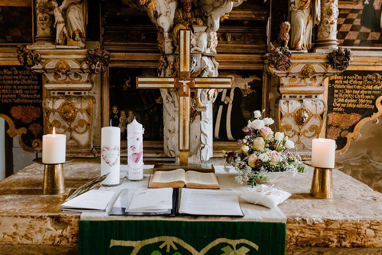 Kirchliche Trauung Mit Taufe In Neinstedt Fotostudio 37